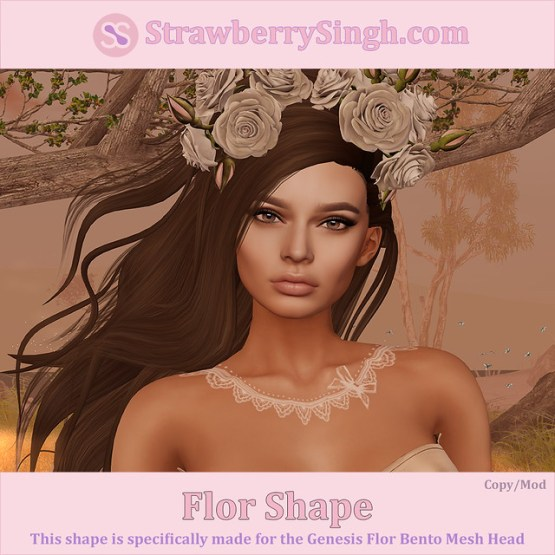 StrawberrySingh.com Flor Shape