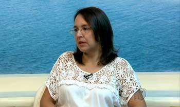 MP leva projeto itinerante para região do Eixo Forte, em Santarém, Luziana Dantas, promotora de justiça