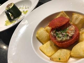 Gemista o Yemista son verduras rellenas de arroz especiado. Koketo