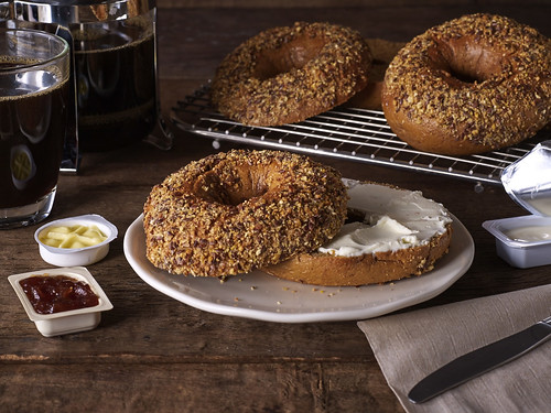 Starbucks Whole Wheat Bagel