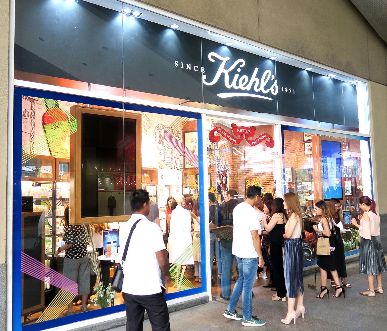 1 Kiehl's Store of the Future - Power Serums - Midnight Recovery - She Sings Beauty by Gen-zel