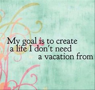 goal meme a job I don't need a vacation from