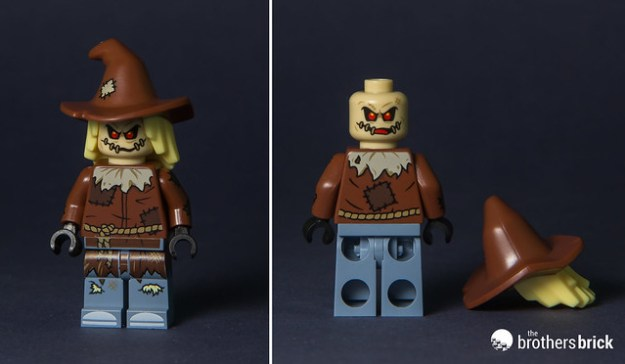 70913 Scarecrow Fearful Face-off