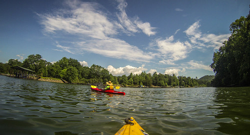 Lake Keowee and Estatoe Creek-47
