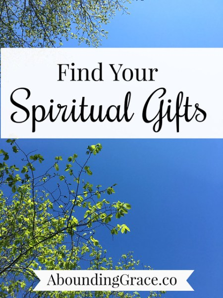 Find Your Spiritual Gifts