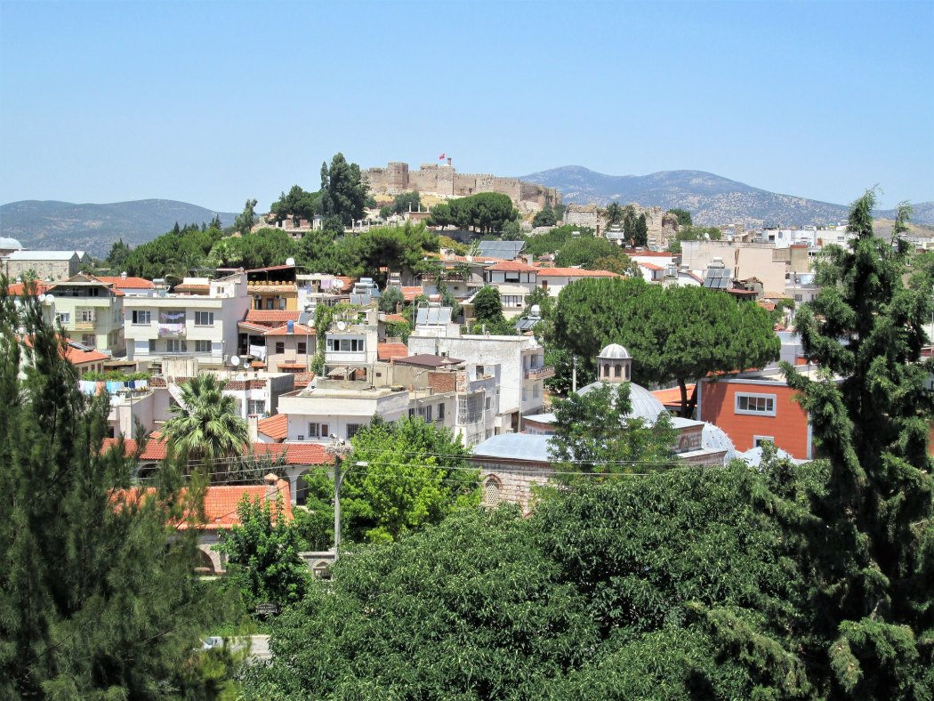 Selcuk view of castle