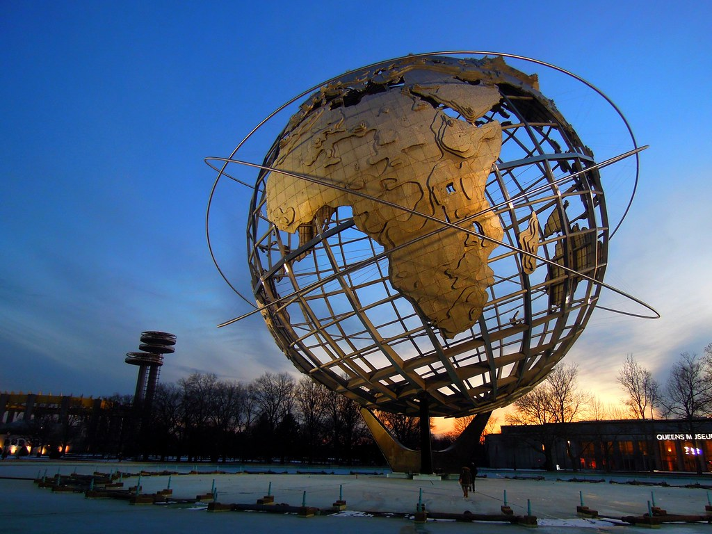 Unisphere  Flushing MeadowsCorona Park USA  Sam  Flickr