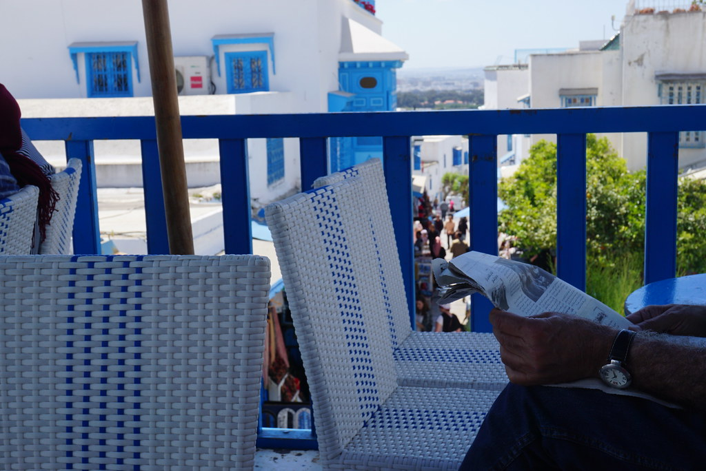 tunis tunisia sidi bou said