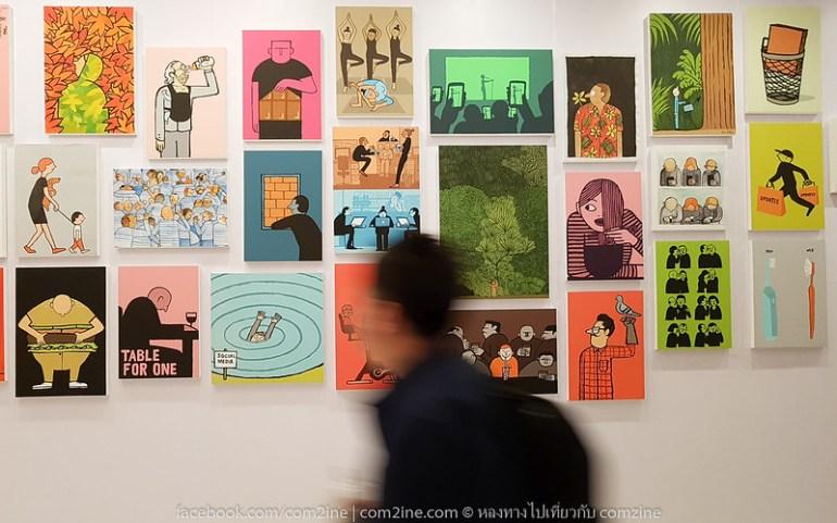 2ฌอง จูเลียง - The People งานศิลป์สนุก สะท้อนยุคโมเดิร์นไลฟ์