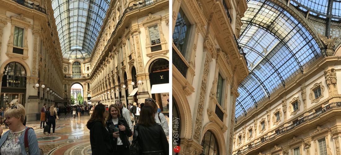 Milão, Itália, Galleria Vittorio Emanuele II