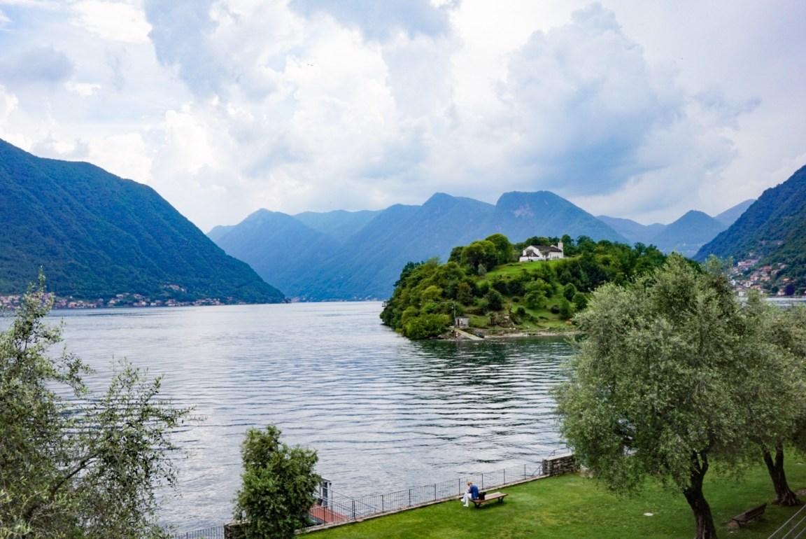 Comojärvi - Kävellen Italiasta Sveitsiin