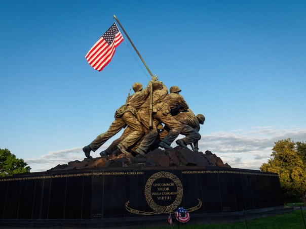 """Uncommon Valor was a common Virtue"""