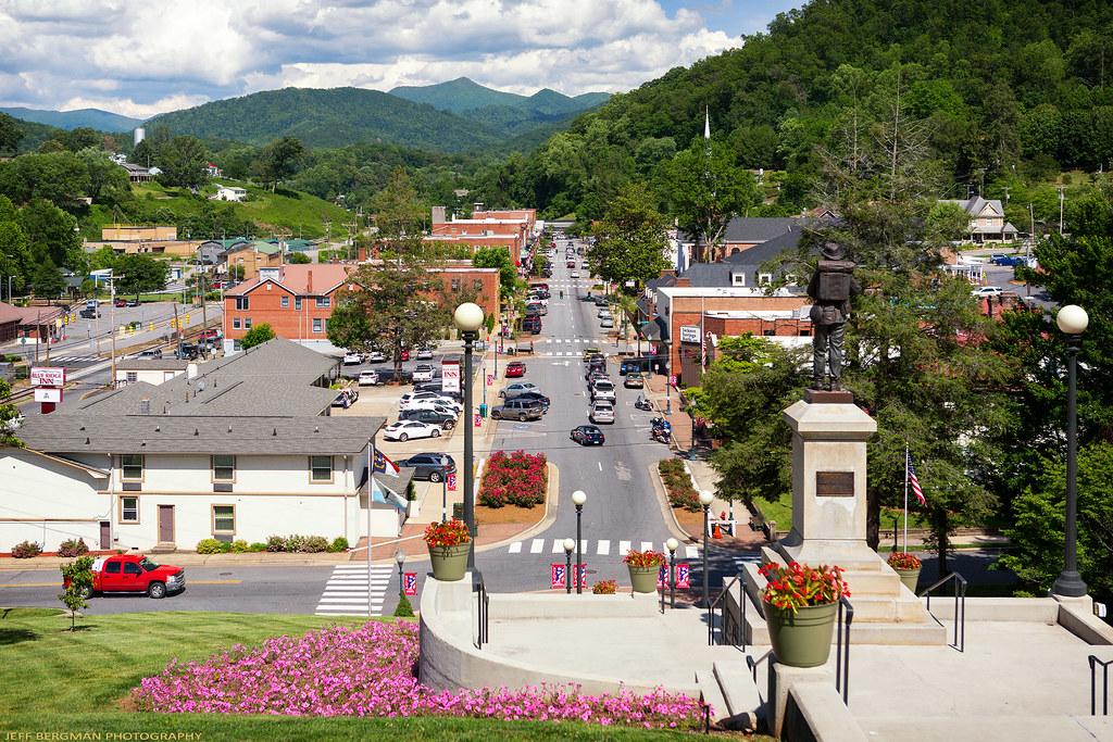 Sylva North Carolina  The picturesque town of Sylva