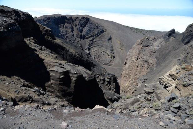 Volcan en La Palma