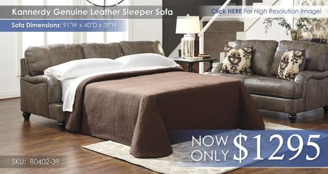 Kannerdy Sleeper Sofa 80402-39