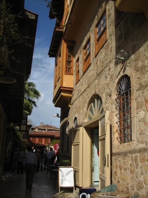 The streets of Kaleiçi, Antalya
