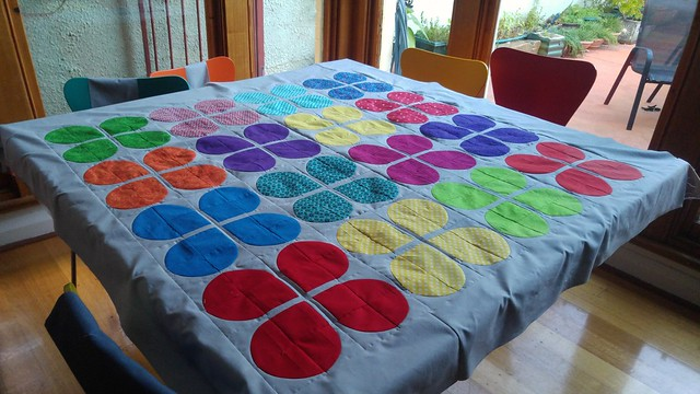 Time to do the backing, then quilt!
