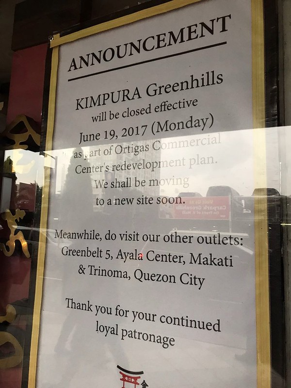 Kimpura closed