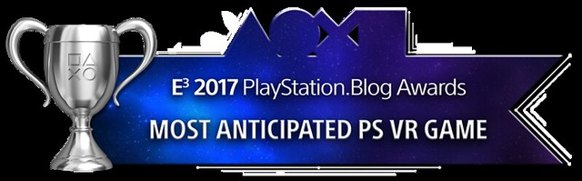 Most Anticipated PS VR Game - Silver