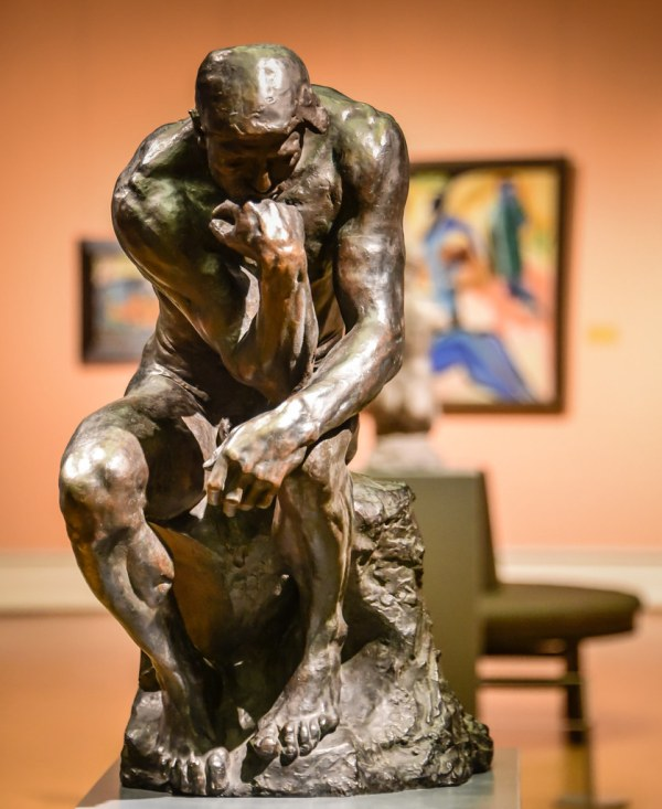 Auguste Rodin - Thinker National Museum Of Art Oslo