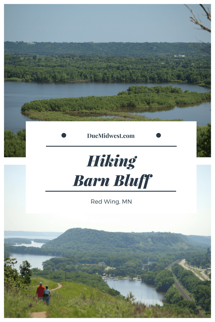 Hiking Barn Bluff