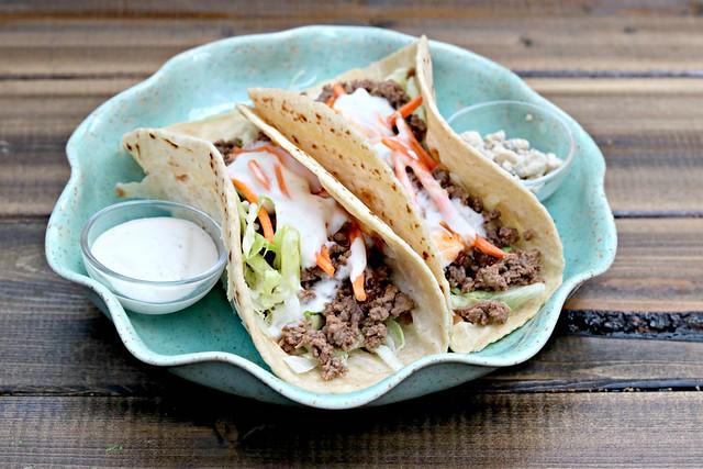 Buffalo Venison Tacos Side