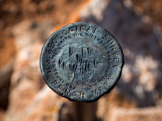 High Spur Benchmark 1953
