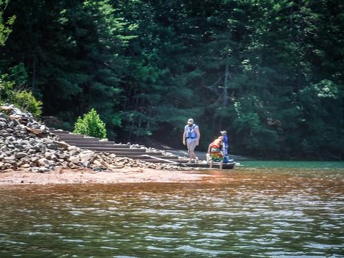 Lake Keowee and Estatoe Creek-82