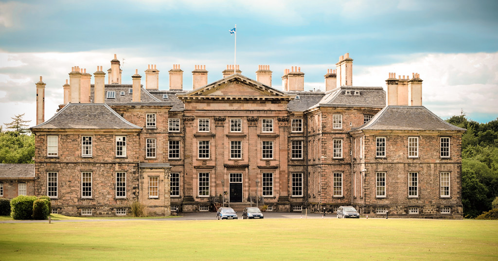 Dalkeith Palace  Dalkeith Castle was located to the north