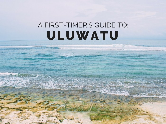 A First-Timer's Guide to Uluwatu, Bali - By Perogy and Panda