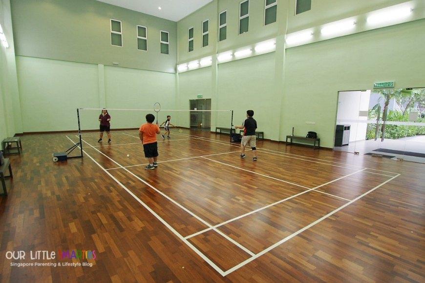 Badminton Court