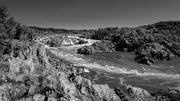 The Potomac River at Great Falls