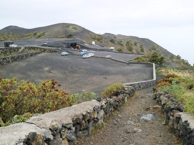 Inicio del Sendero de Los Canarios al faro de Fuencaliente