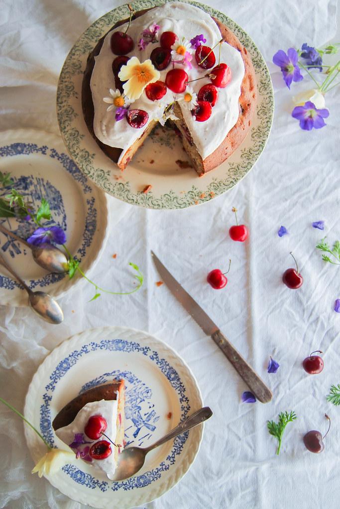 Gâteau aux cerises recette