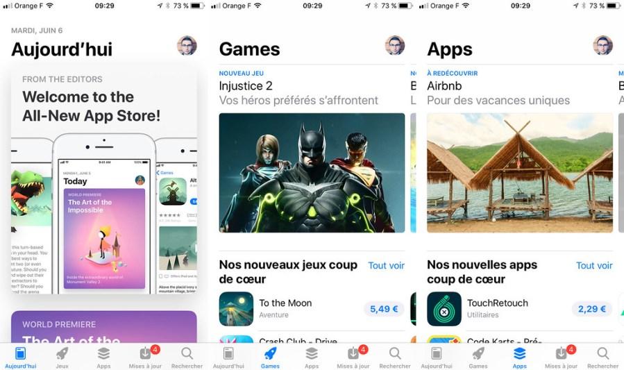App Store iOS 11 iPhone 3x
