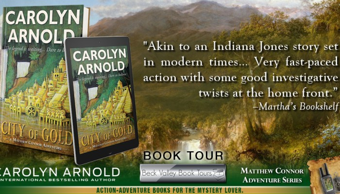 City of Gold  by Carolyn Arnold Review and Giveaway Ends 8/20/2017
