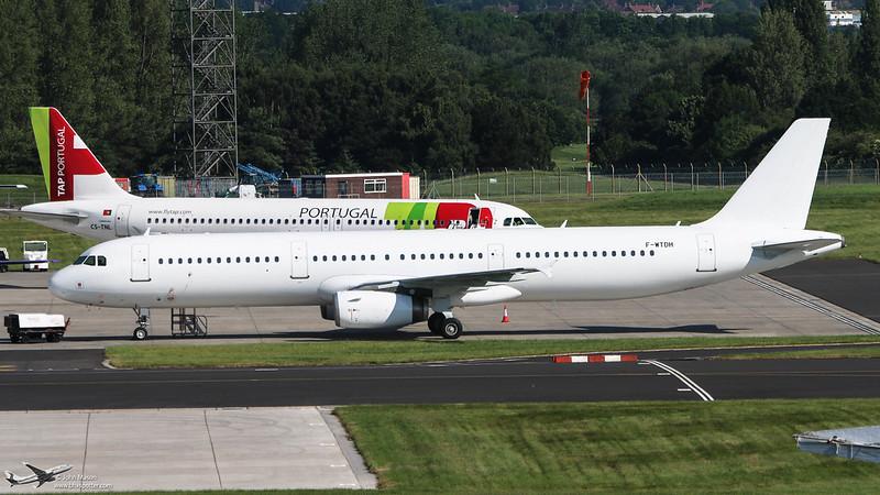 F-WTDH A321 (EX SE-RDO)