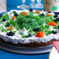 Midsommar: vegansk skagencheesecake