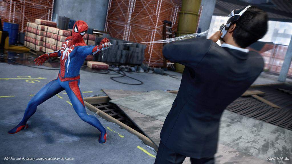 Spider-Man PS4 Gameplay