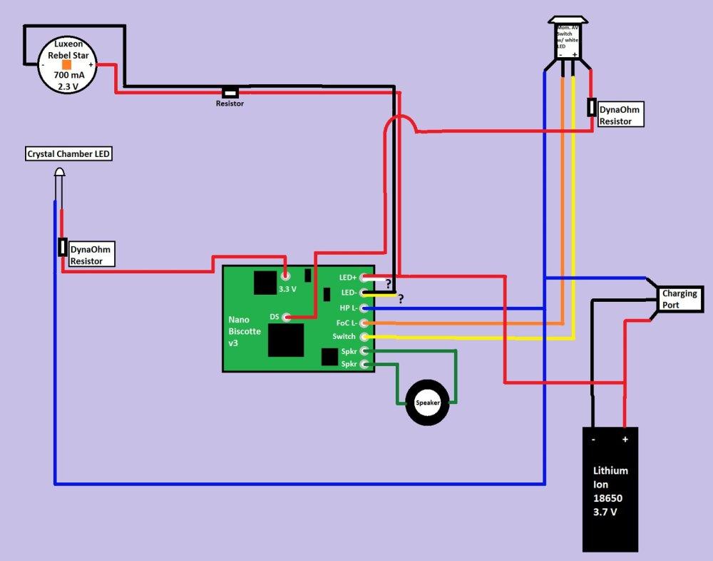 medium resolution of 9v led wiring diagram 3 wiring library led power supply diagram nano biscotte v3 luxeon rebel