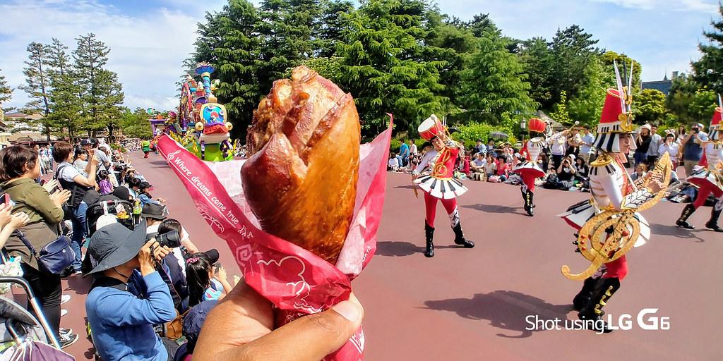 Turkey Leg at Disney Parade