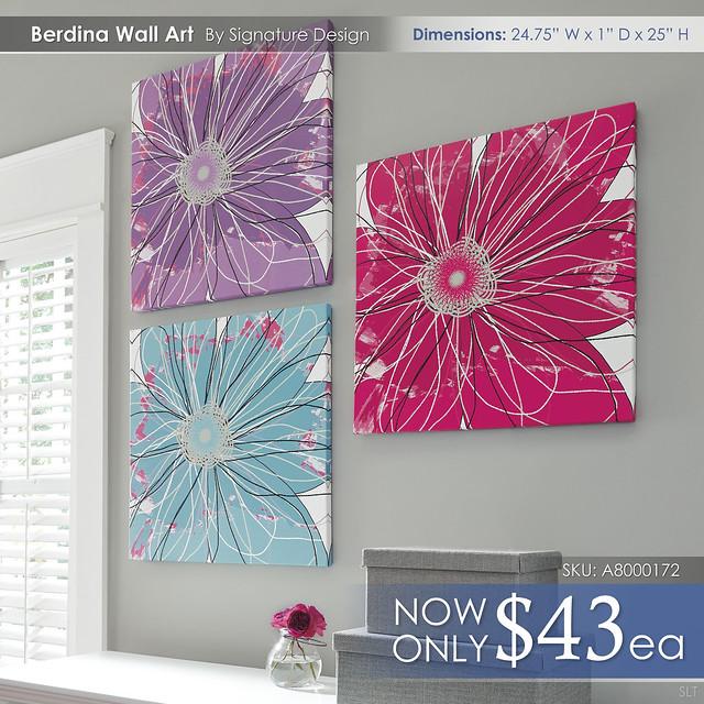Berdina Wall Art _ A8000172-174-SET