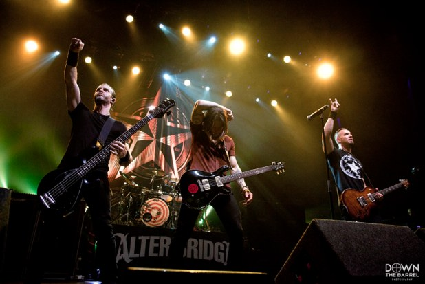Alter Bridge - Olympia Theatre, Dublin - 20th June 2017