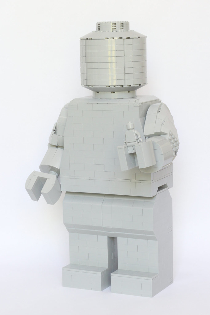 Brick Build Minifigure  Large brick build Lego minifigure