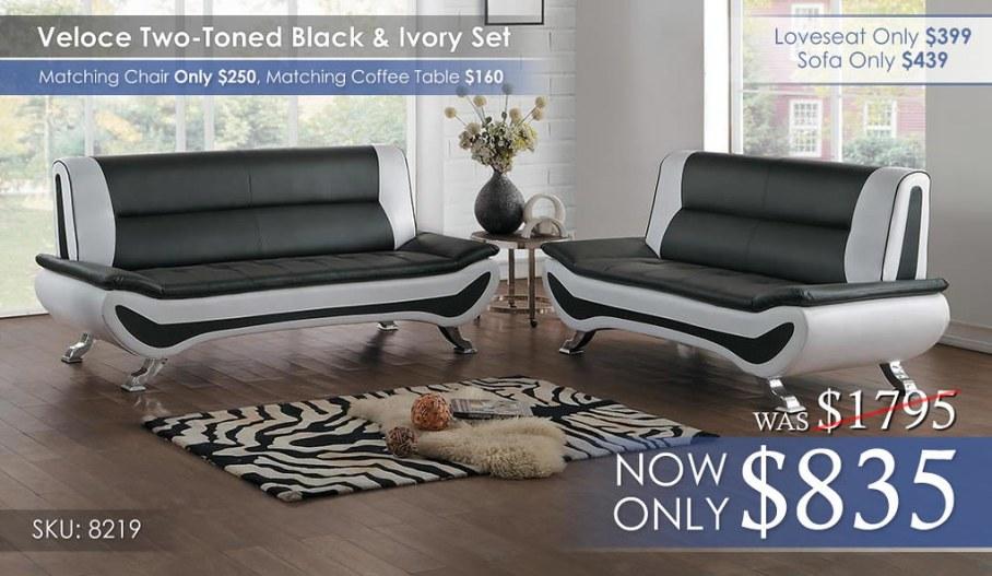 8219 Veloce Living Room Set