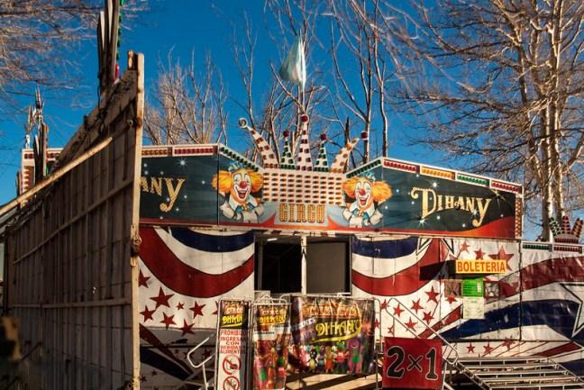 The circus Humahuaca, Jujuy, Argentina