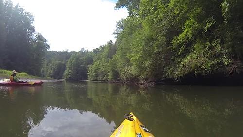 Lake Keowee and Estatoe Creek