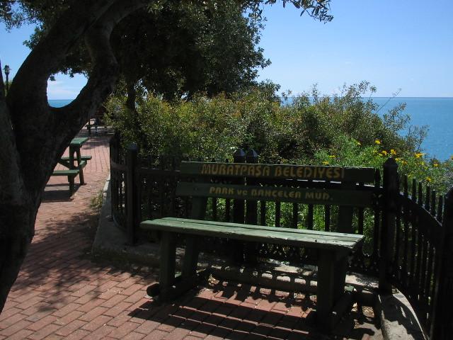Park Bench, Antalya, Turkey