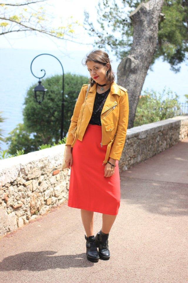 4-jupe-rouge-perfecto-jaune