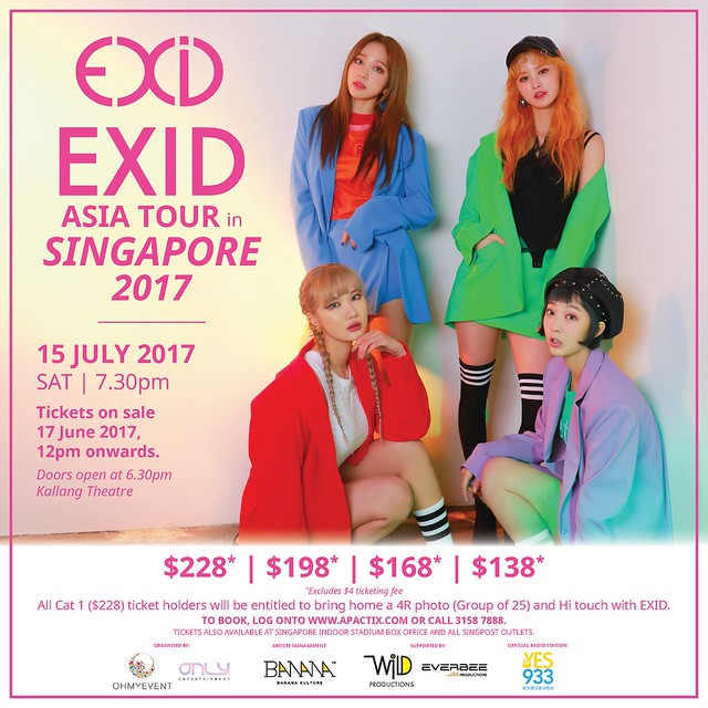 EXID Asia Tour in Singapore